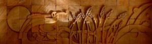 خمیر سفال برای شکل تابلو
