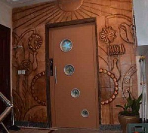 آبنما-سفال-تابلو-دکوراسیون-داخلی