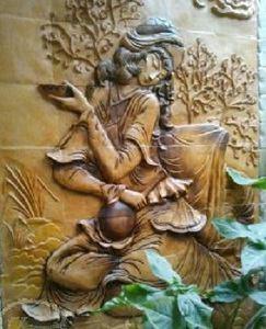 تابلو های خوشنویسی سفال نما